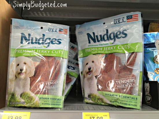 Nudges Healthy Dog Treats in Two Sizes