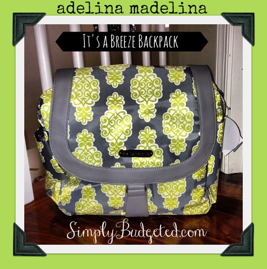 Adelina Madelina Diaper Bag - It's a Breeze