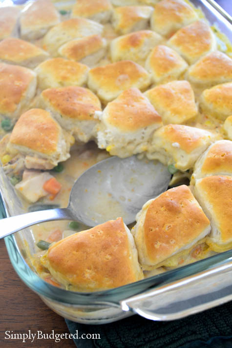Pillsbury Chicken Pot Pie-1