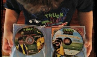Now Showing … Dino Dan DVDs 4-pack!
