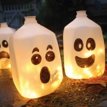 Spirit Jugs Halloween Craft