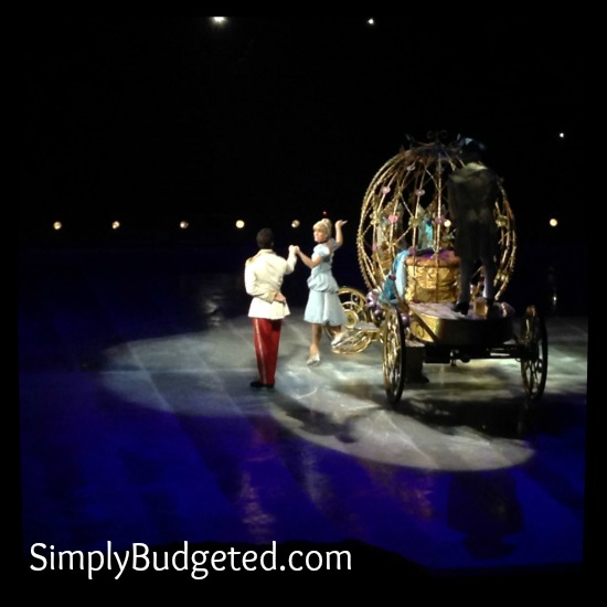 Disney on Ice Cinderella Arrives