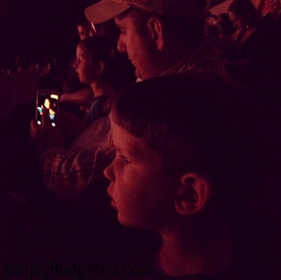 Disney on Ice Watching Instagram Picture
