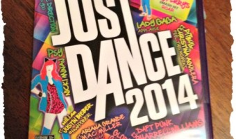 Just Dance Just Sweat … with Just Dance 2014 #JDDreamTeam2014
