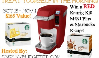 Treat Yourself – Keurig Giveaway