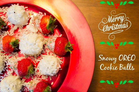 Snowy OREO Cookie Balls Recipe