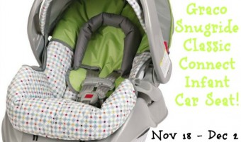 Ready for Baby! Graco Infant Car Seat Giveaway