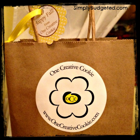 One Creative Cookie Bag