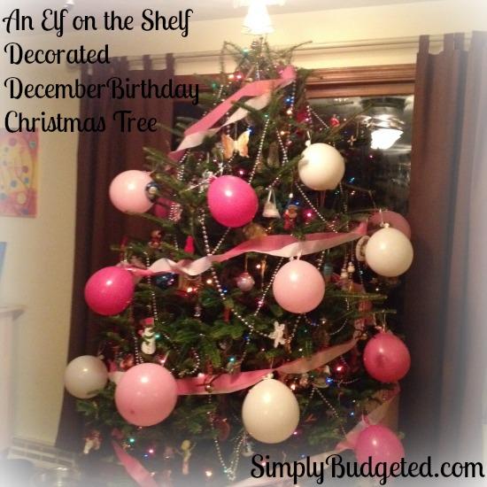 Elf On The Shelf: Day 9 Birthday Tree