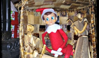 Day 15: Elf on the Shelf In the Hut