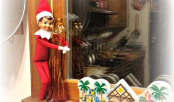 Elf on the Shelf: Day 21 Baking Day