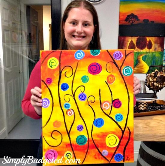 wine and design painting 2013 sb