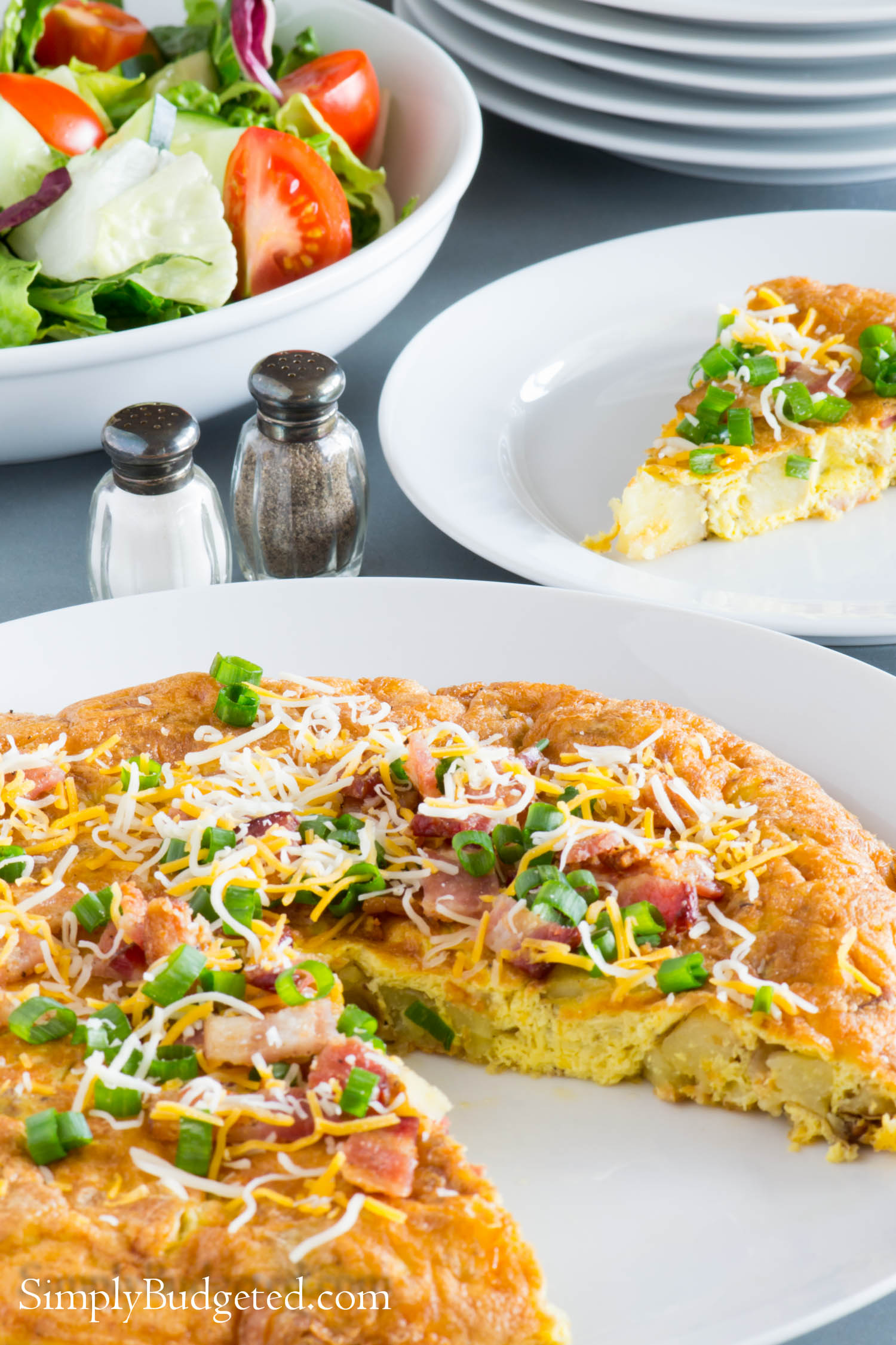 Loaded Baked Potato Frittata–GIVEAWAY