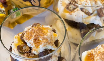 Dessert Fun with Individual TWIX Bites Trifles