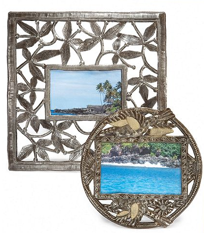 Heart of Haiti at Macy's Metal Picture Frame Collection