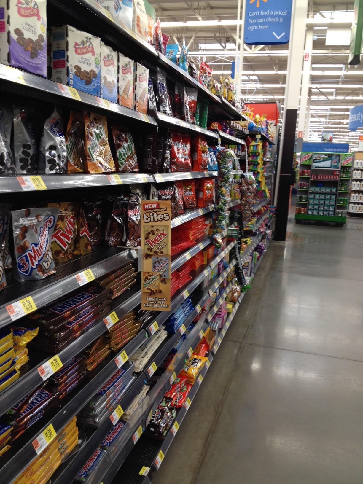 Twix Bites at Walmart
