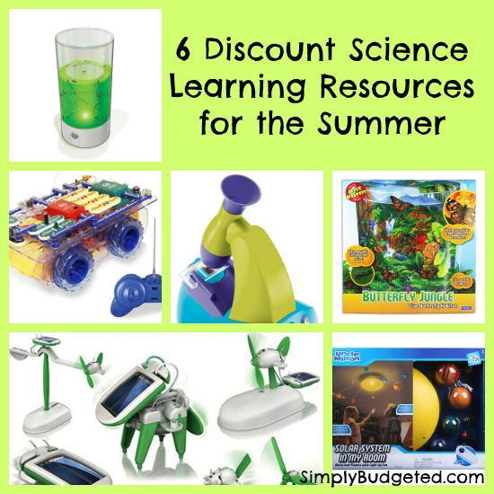 6 Discount Science Learning Resources for the Summer