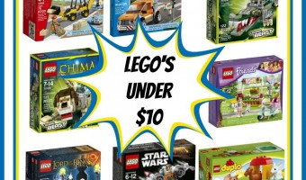 LEGO's for under $10