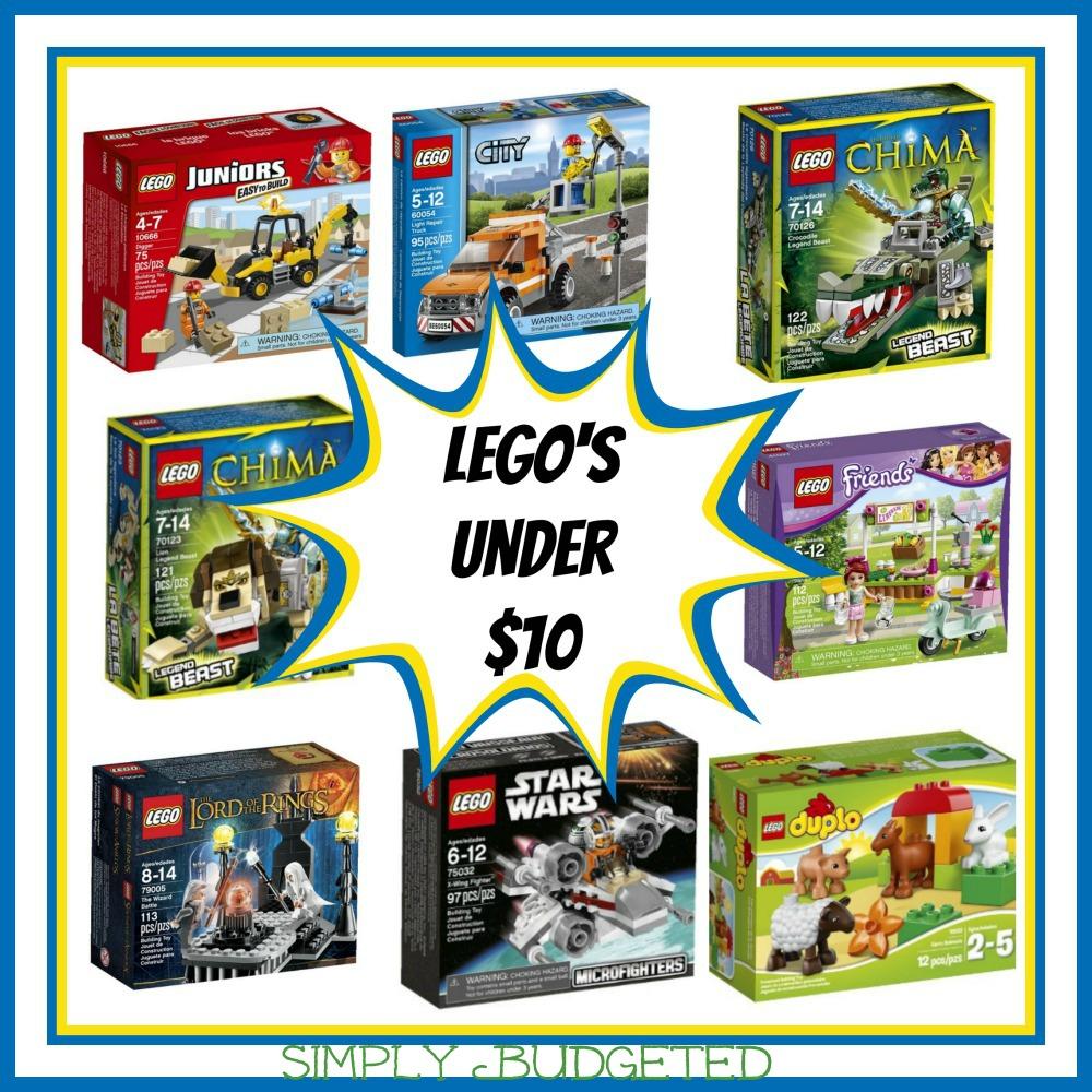 LEGOS Under $10