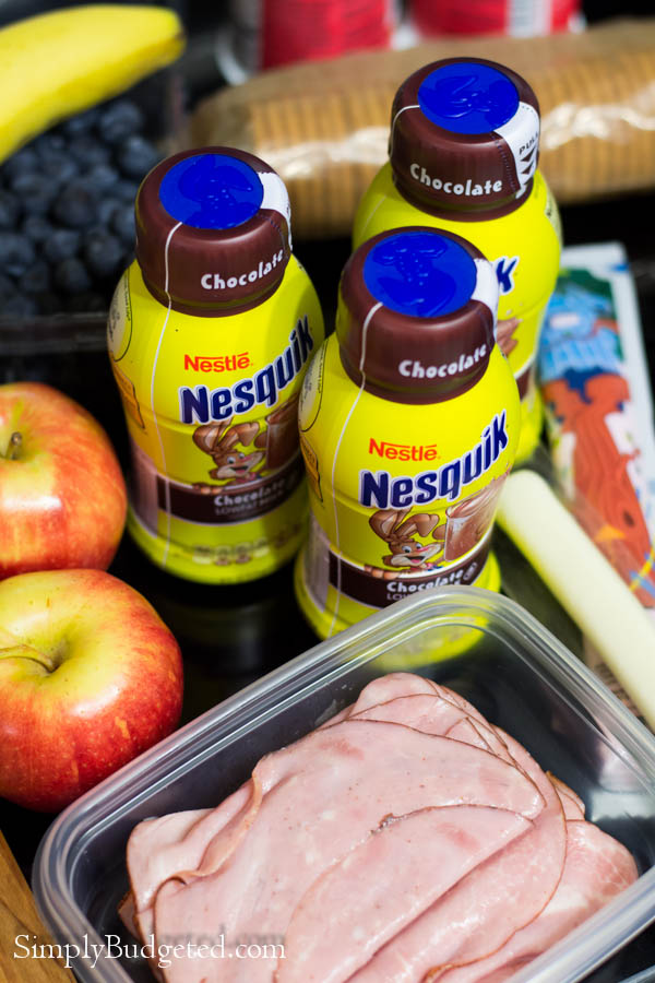 Nesquik Lunch Packing Made Easy