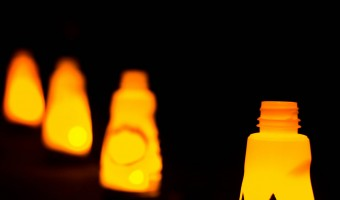 Pumpkin Spice Luminaries