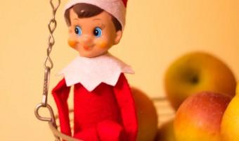 Elf on the Shelf: Day 1 Welcoming Fruit
