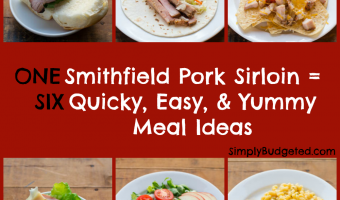 One Pork Sirloin, Six Quick & Easy (and Yummy) Meals!