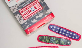 Veteran's Healing Wounds with BAND-AID® Brand