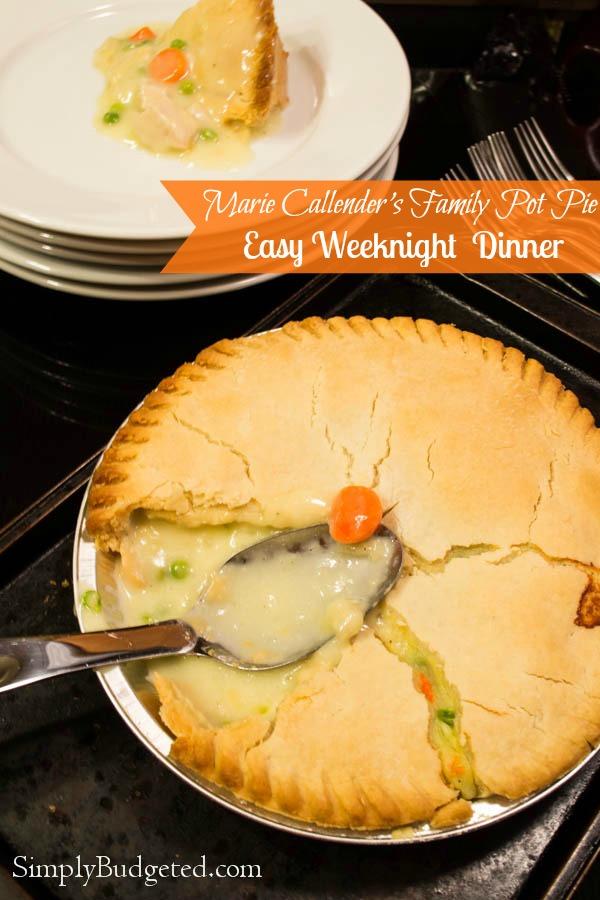 Marie Callender's Family Pot Pie - Easy Weeknight Dinner
