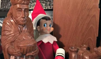 Elf on the Shelf: Day 20 Another Wiseman