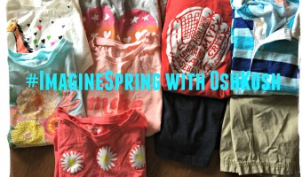 Imagine Spring with OshKosh B'Gosh