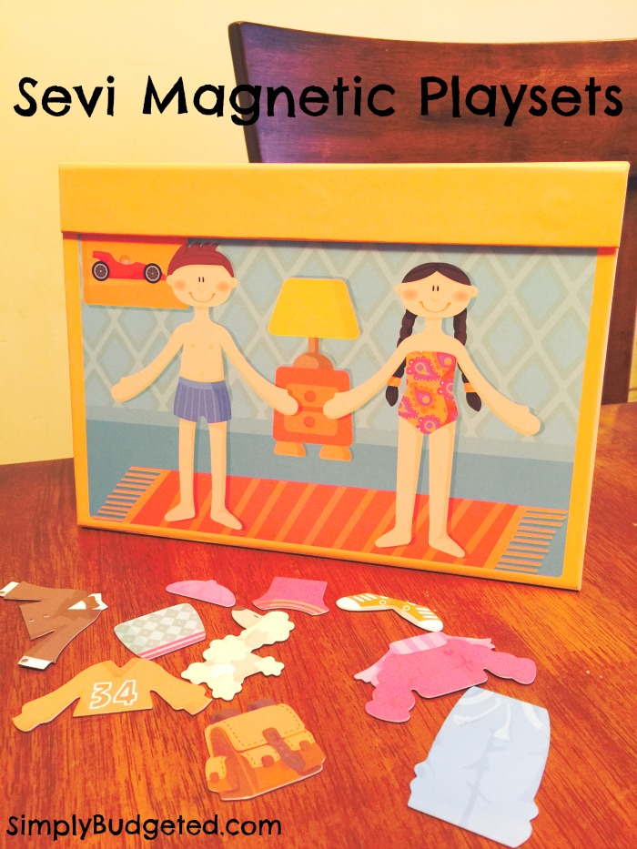 sevi magnetic playsets