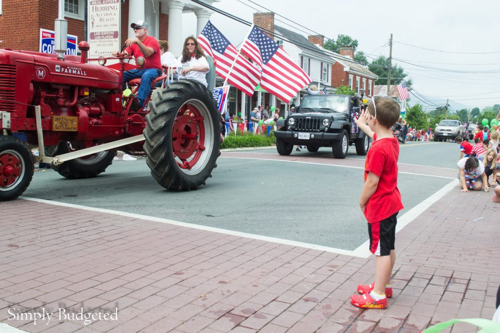 Fourth of July Parade Tractor-1
