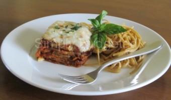 Meatless Monday:  Zucchini Parmigiana