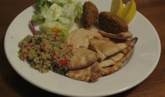 Meatless Monday: Middle East Feast