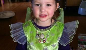 Wordless Wednesday: Happy 4th Birthday, Sophie!