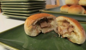 The Daring Cooks Challenge:  Char Sui Bao