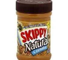Friday Favorite: Skippy Natural Peanut Butter