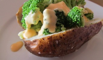 Meatless Monday:  Baked Potatoes