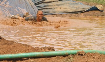 Wordless Wednesday: Mud Warrior