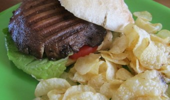 Meatless Monday: Portobello Mushroom Burger