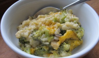 Meatless Monday:  Broccoli Rice Casserole