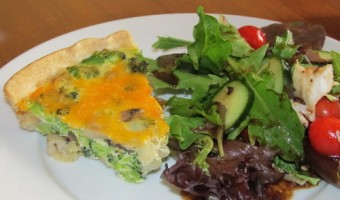 Meatless Monday:  Veggie Quiche