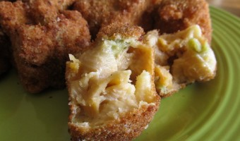 Meatless Monday:  Fried Mac & Cheese