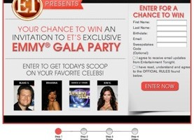 ET's Hanging with the Stars Sweepstakes