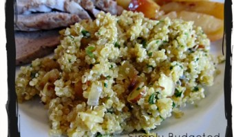 Meatless Monday:  Quinoa Pilaf