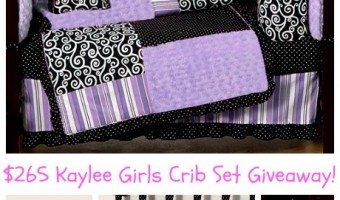 Beyond Bedding Giveaway #babygifts