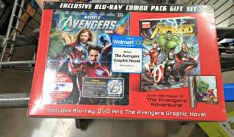 Avengers Blu-Ray/DVD Combo Pack #MarvelAvengersWMT