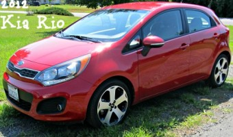 On the Road with the 2012 Kia Rio
