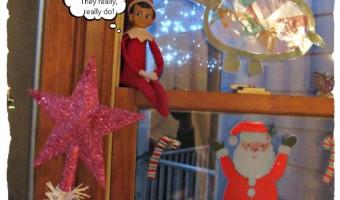 Elf on the Shelf 2012 – Day 30 — Goodbye!